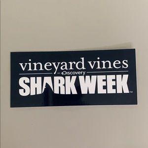 Vineyard Vines Shark Week Sticker